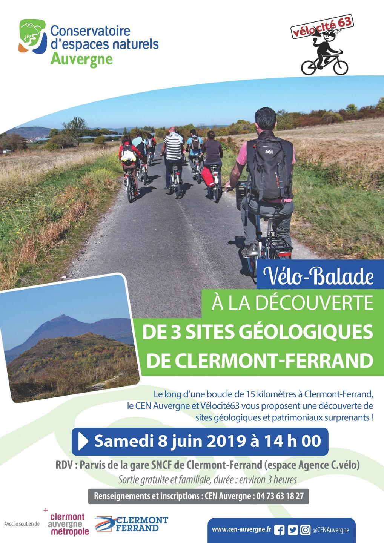 Calendrier Trail Auvergne.Velo Balade A La Decouverte De 3 Sites Geologiques De